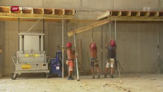 Video «Wie krank macht das Arbeiten auf dem Bau?» abspielen