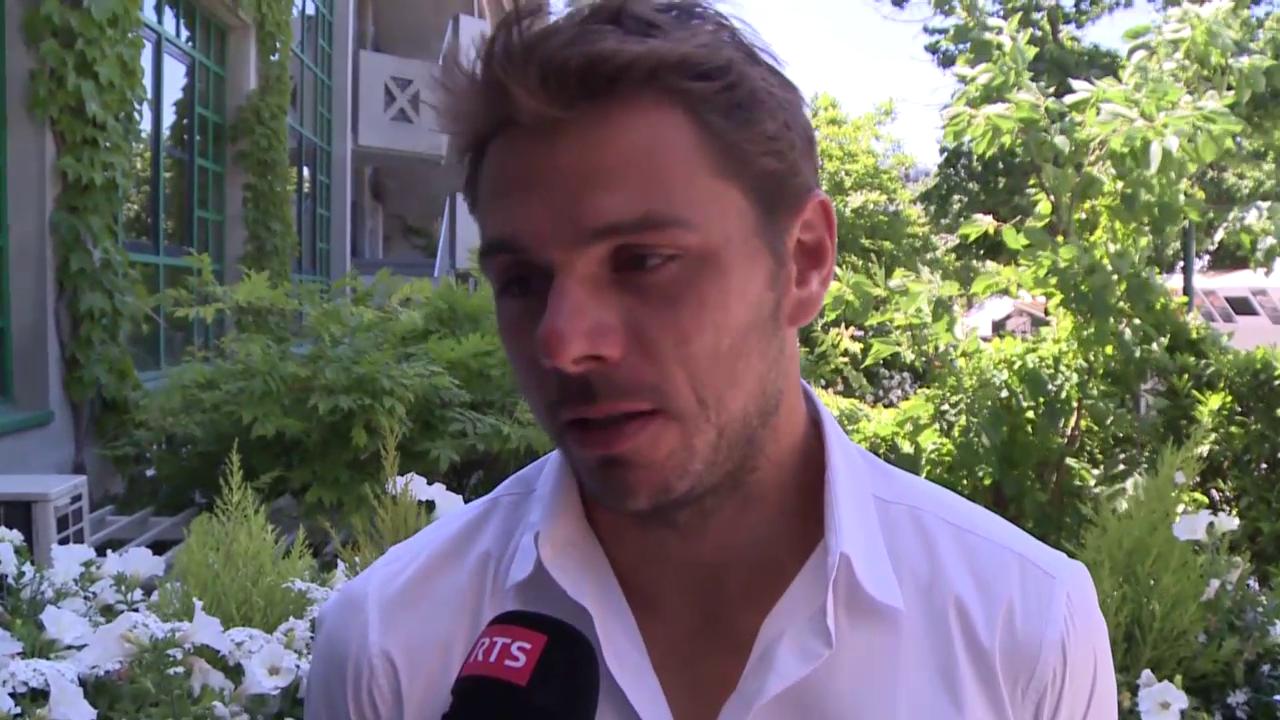 Tennis: Wawrinka im Interview