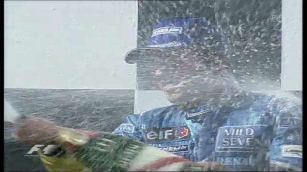 Video «Alonsos 1. GP-Sieg seiner Karriere beim GP Ungarn» abspielen