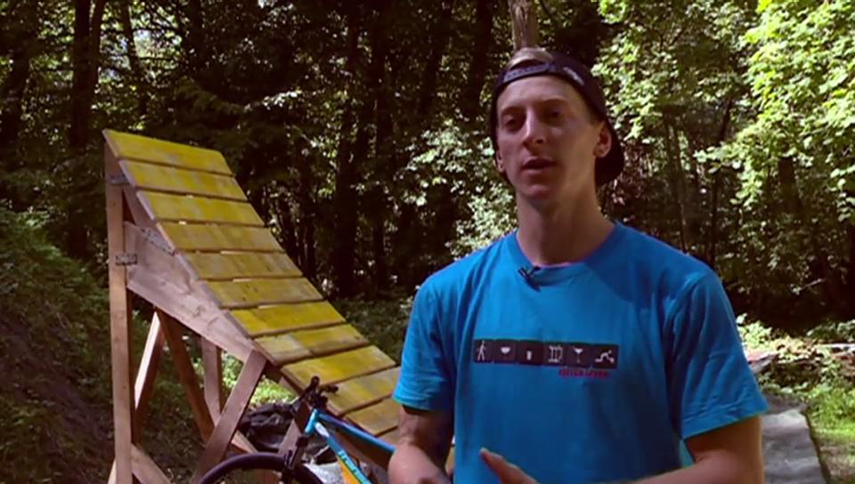 Jonas Turin: Der Moutainbike-Newcomer will hoch hinaus