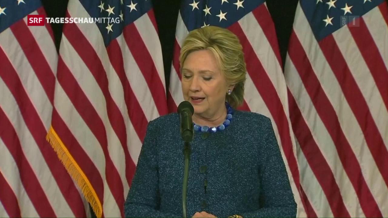 Clinton in Bedrängnis