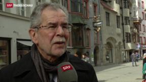 Video «Historische Wahl in Österreich» abspielen
