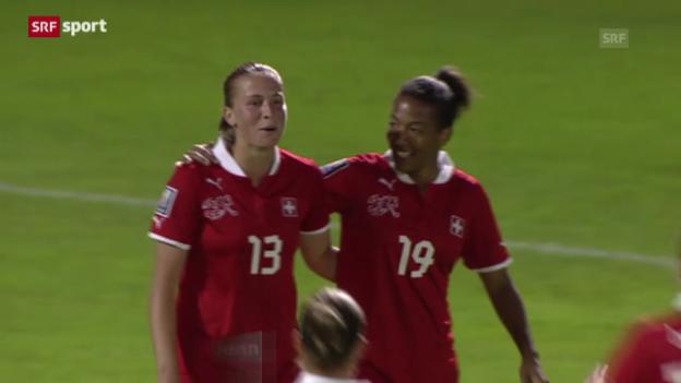Video «Fussball: Schweiz - Serbien («sportaktuell»)» abspielen