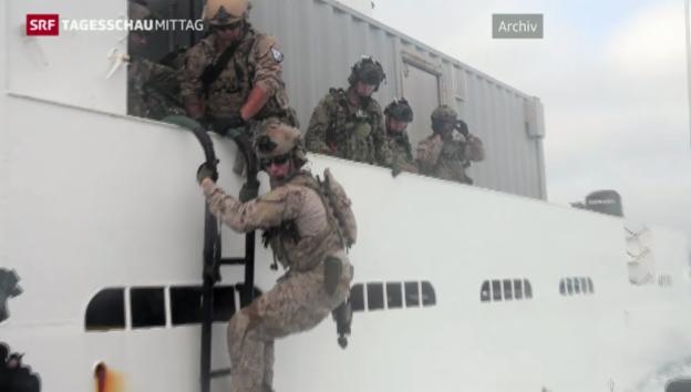 Video «Navy Seals entern Öltanker» abspielen