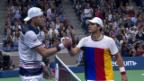 Video «Die entscheidenden Punkte bei Isner-Zverev» abspielen