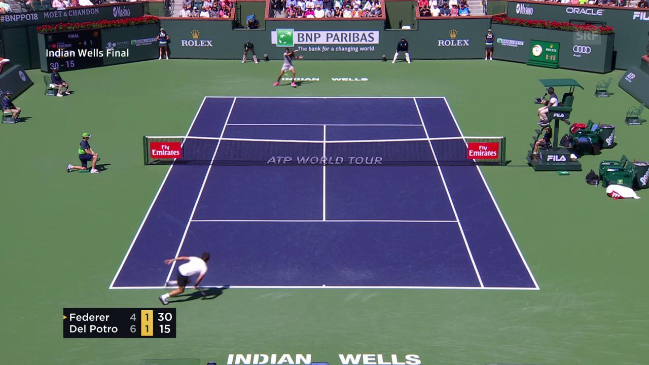 Federer rutscht, kämpft – und verliert