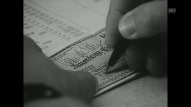 Video ««Bargeldloses Bezahlen» (Antenne, 10.7.1972)» abspielen