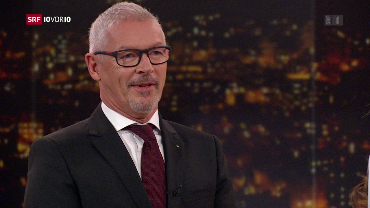 Studio-Gespräch mit Martin Klöti