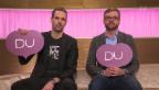 Video «Ich oder Du: Arthur Honegger und Peter Düggeli im Schlagabtausch» abspielen