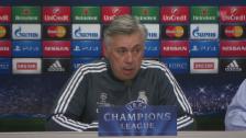 Video «Fussball: Champions League, Carlo Ancelotti an der Pressekonferenz» abspielen
