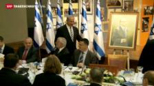 Video «Netanjahu zu den Friedensgesprächen» abspielen