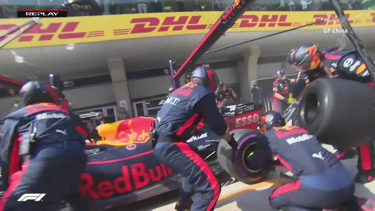 Red-Bull-Crew im Stress