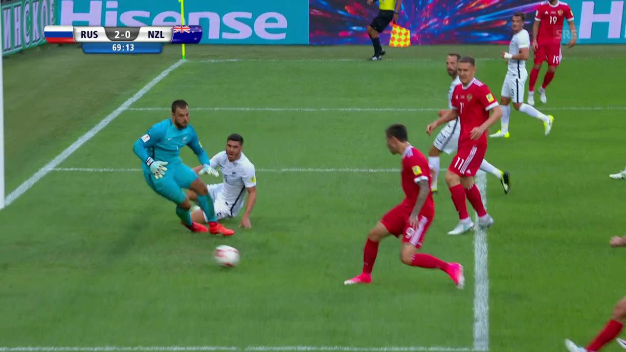 Smolows Treffer gegen Neuseeland