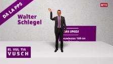 Laschar ir video «CandiCartoon - Walter Schlegel»