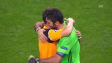 Link öffnet eine Lightbox. Video Porto-Juventus: Buffon gewinnt Torhüter-Gipfel abspielen