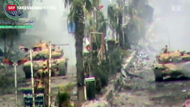 Video «Internationale Hilfe für Syrien» abspielen