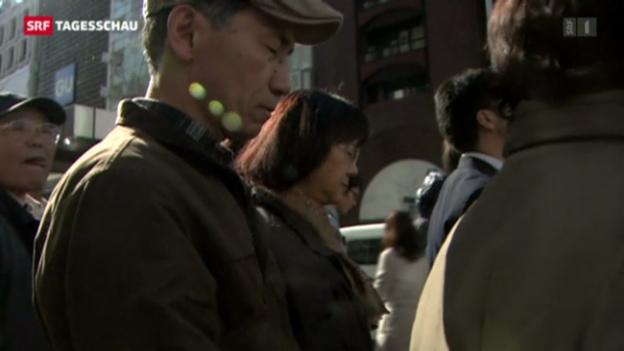 Video «Japan gedenkt am Jahrestag der Opfer» abspielen