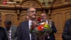 Video «Die Wahl des neuen Bundesrates» abspielen