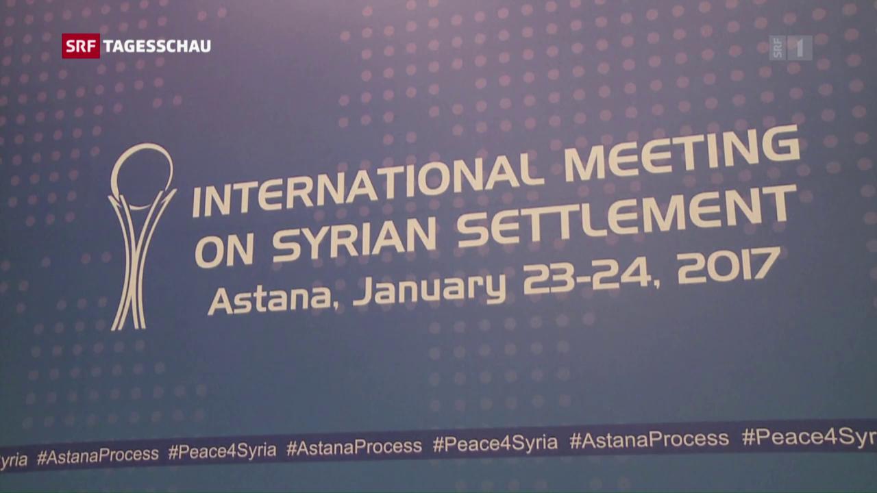 Treffen der syrischen Kriegsparteien