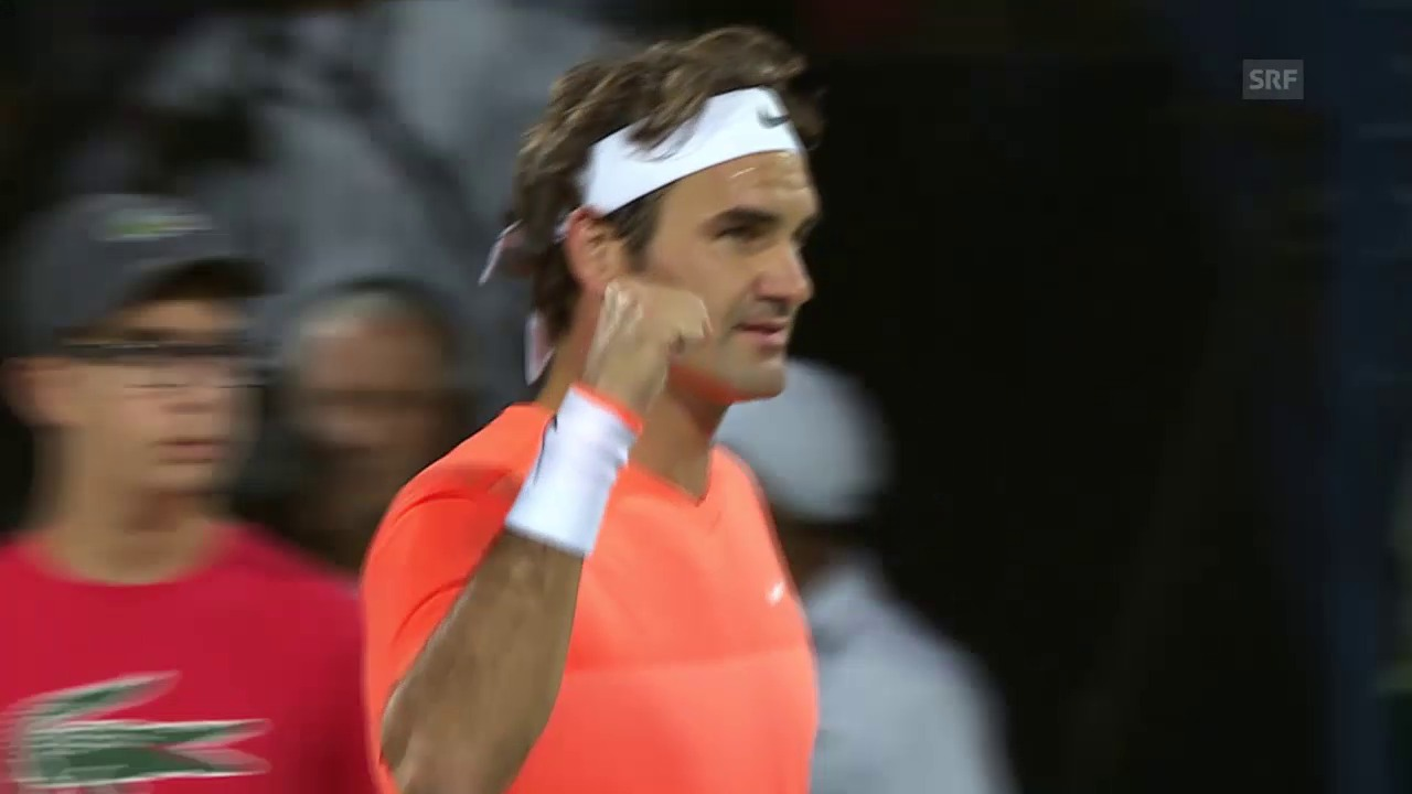Tennis: Federer - Djokovic, Live-Highlights Full