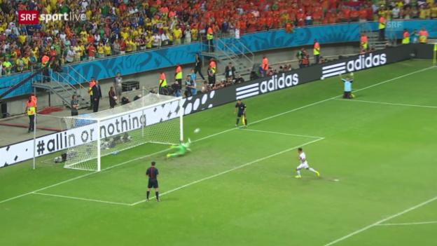 Video «Niederlande - Costa Rica: Das Penaltyschiessen» abspielen
