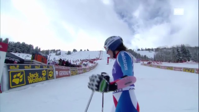 Ski alpin: 2. Lauf von Dominique Gisin in Courchevel