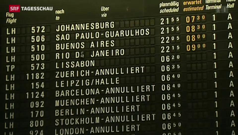 Dritter Streiktag bei Lufthansa