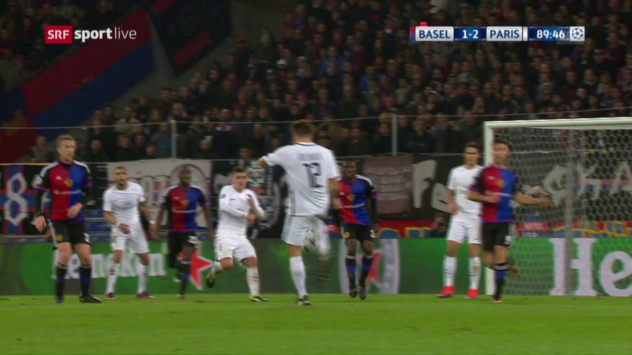 FCB-PSG: Die Live-Highlights
