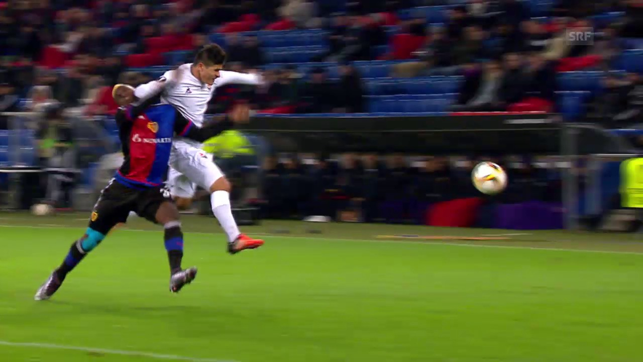 Fussball: Europa League, 5. Runde, Basel - Fiorentina, Härteste Zweikämpfe