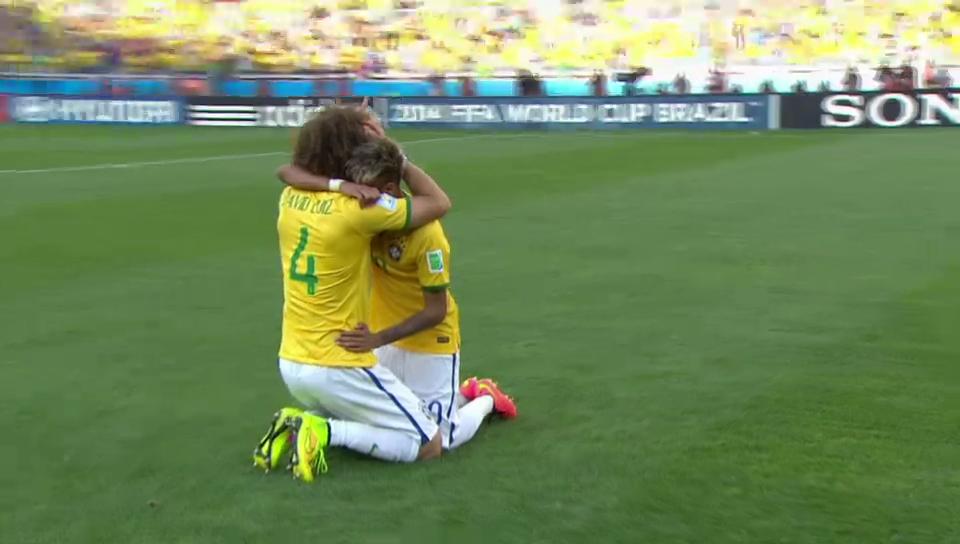 Tränen der Freude: Neymar Jr.