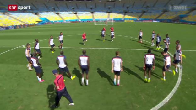 Video «FIFA WM - Preview: Vorschau auf Frankreich - Deutschland» abspielen