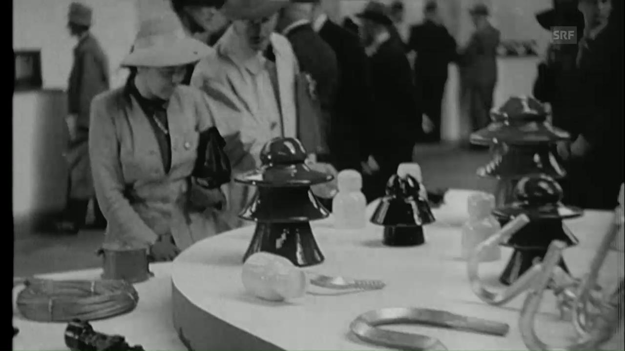 Sondernummer Mustermesse (Schweizer Filmwochenschau, 9.4.1943)
