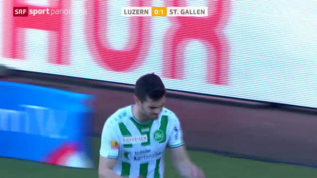 Video «Luzern spielt, Aleksic trifft» abspielen