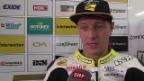 Video «Aegerter: «Sorry für dieses Rennen, diese Leistung»» abspielen